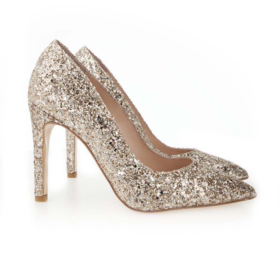 pumps glitter tacons talons tacones tienda online calzado