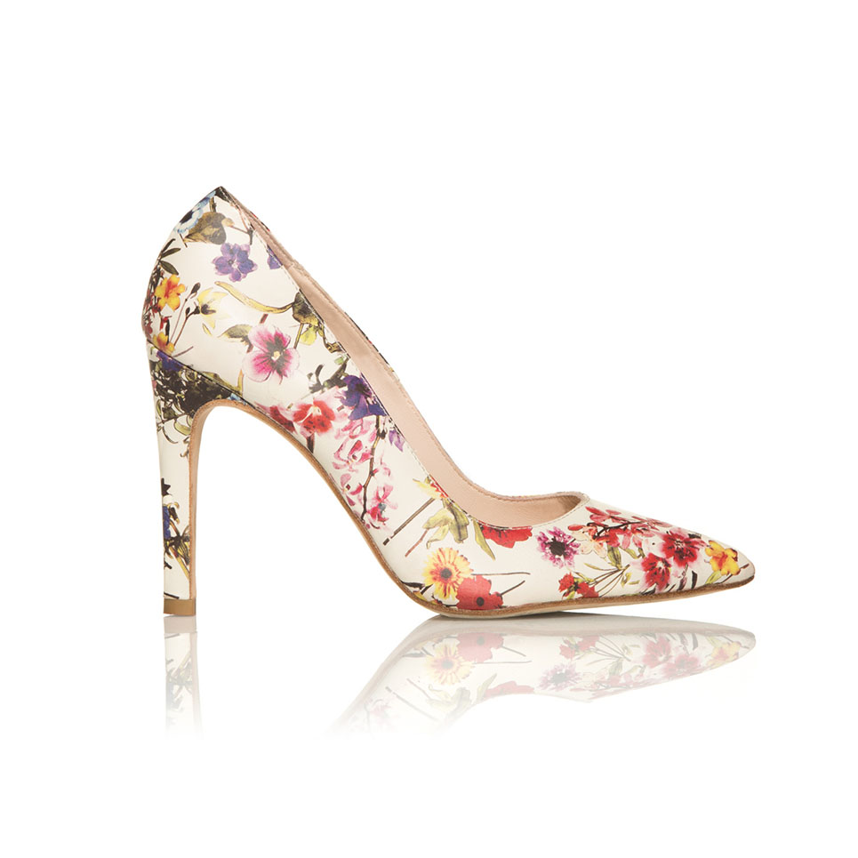 tacon, flores, anamarttin, pumps, stilettos, flowers