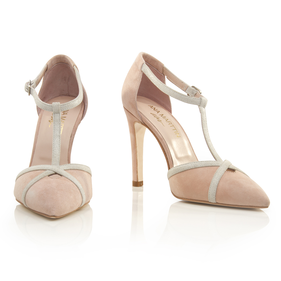 1b70f19e885 Women Shoes Bridal SANTANDER NUDE - Ana Marttin